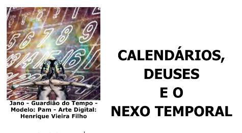 Deus Jano - Arte: Henrique Vieira Filho