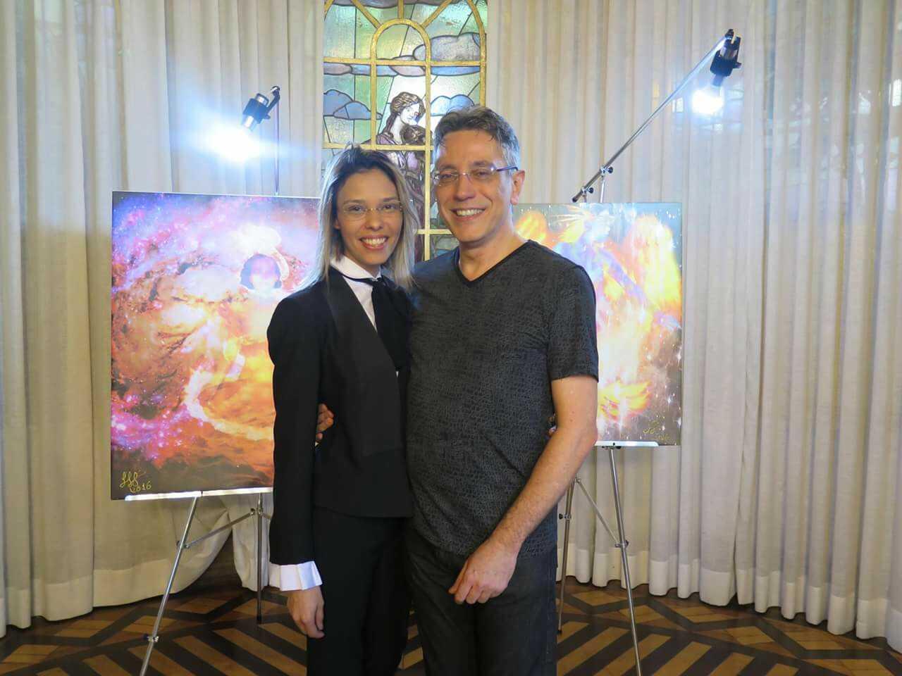 Fabiana Vieira e Henrique Vieira Filho