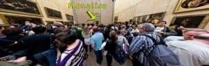 Monalisa No Louvre - Slow Art vs Exposições Convencionais