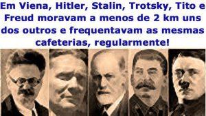 Viena, 1913 - Hitler, Stalin, Freud, Trotsky e Tito eram vizinhos