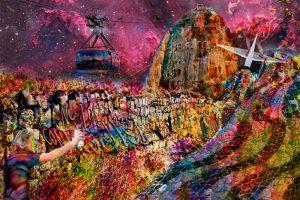 Tela Rio Wall Artista Henrique Vieira Filho