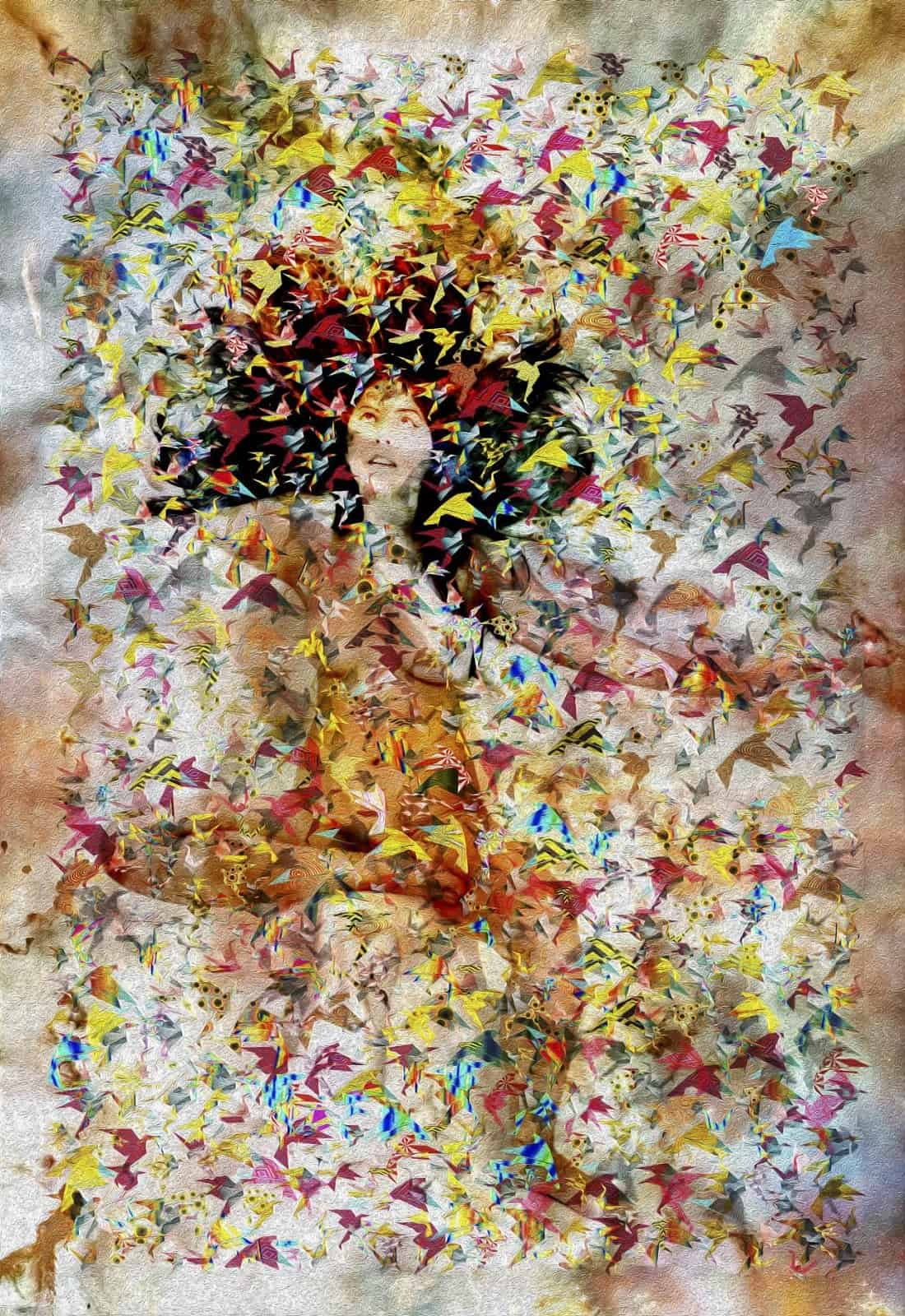 Tela: Thousand Tsurus Artista: Henrique Vieira Filho