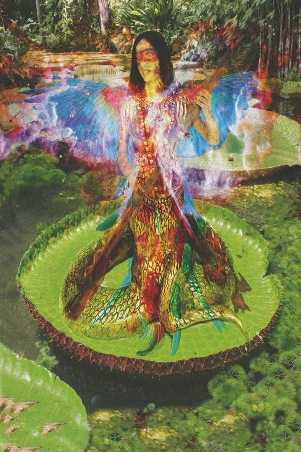 Tela: Brazilian Dragon Artista: Henrique Vieira Filho