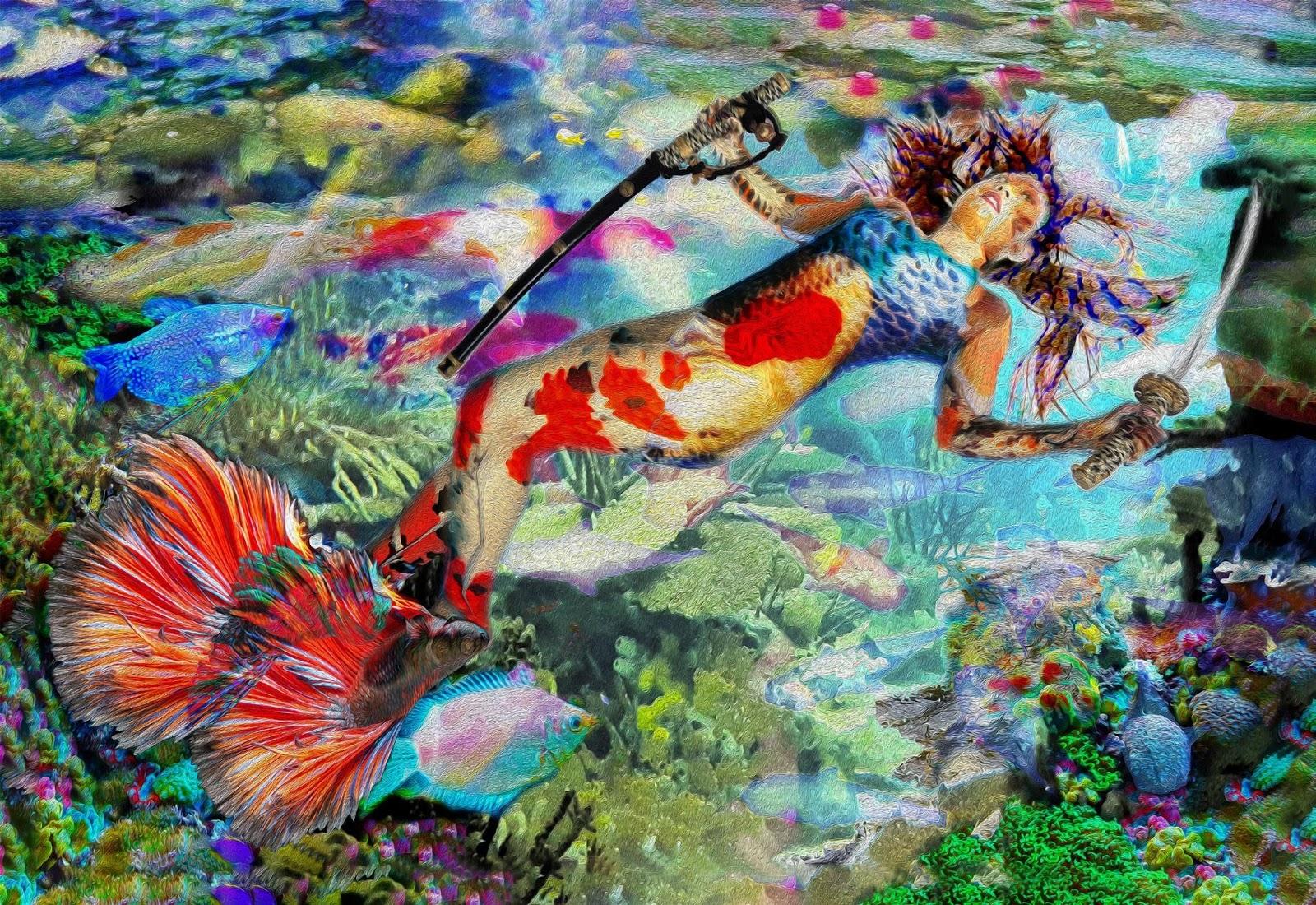 Mermaid Ningyo