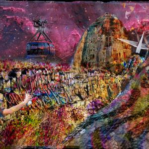 Tela: Rio Wall Artista: Henrique Vieira Filho