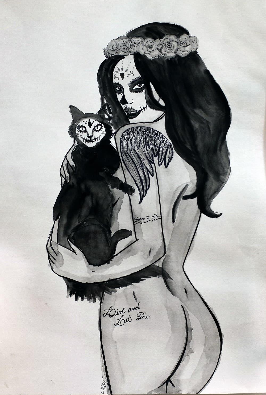 Viva Los Muertos – Artista: Monique Nunes