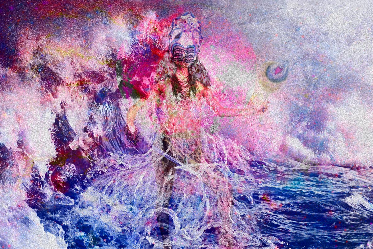 Artwork: The Goddess Of The Seas - Henrique Vieira Filho