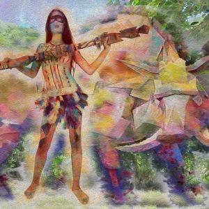 Title: Caipora - Goddess Of The Forests Artist: Henrique Vieira Filho