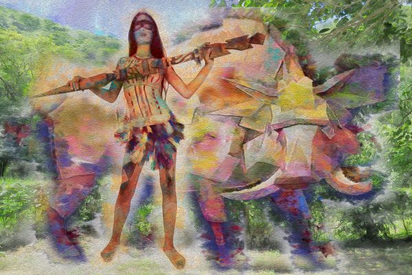 Title: Caipora - Goddess Of The Forests Artist: Henrique Vieira Filho