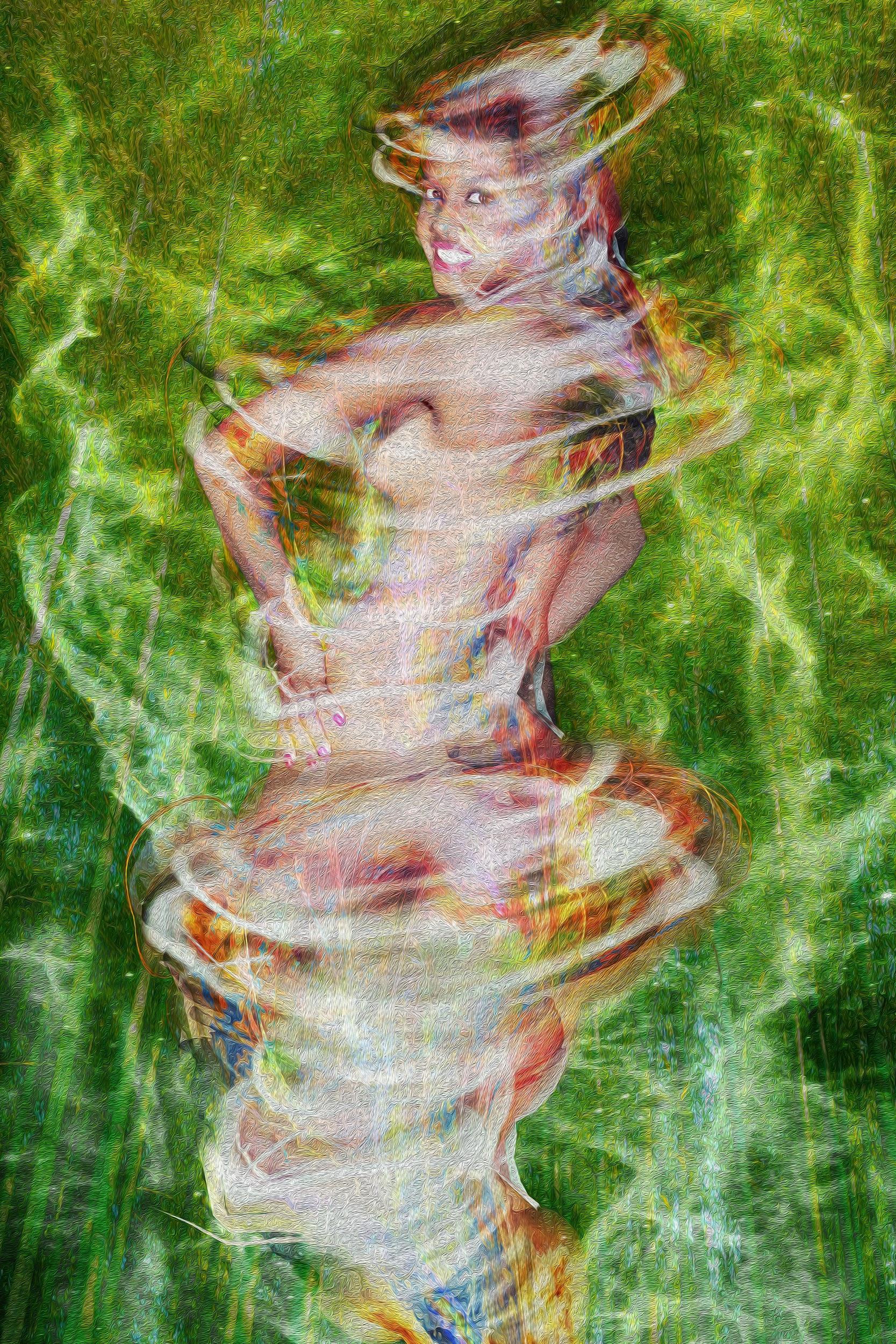 """""""The Goddess Of The Seas"""", 2020 - Artista: Henrique Vieira Filho"""
